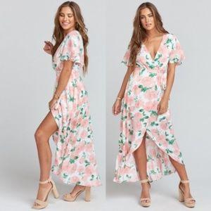 Show Me Your MUMU Wrap Dress X- Large